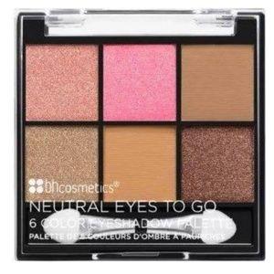 Neutral eye shadow pallete